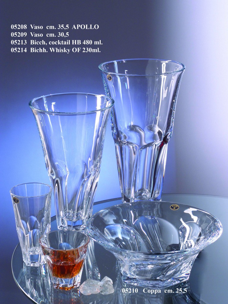 Bohemia cristalli alare s r l bicchieri calici for Bohemia bicchieri